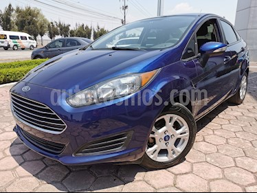 Ford Fiesta Sedan SE usado (2016) color Azul precio $165,000