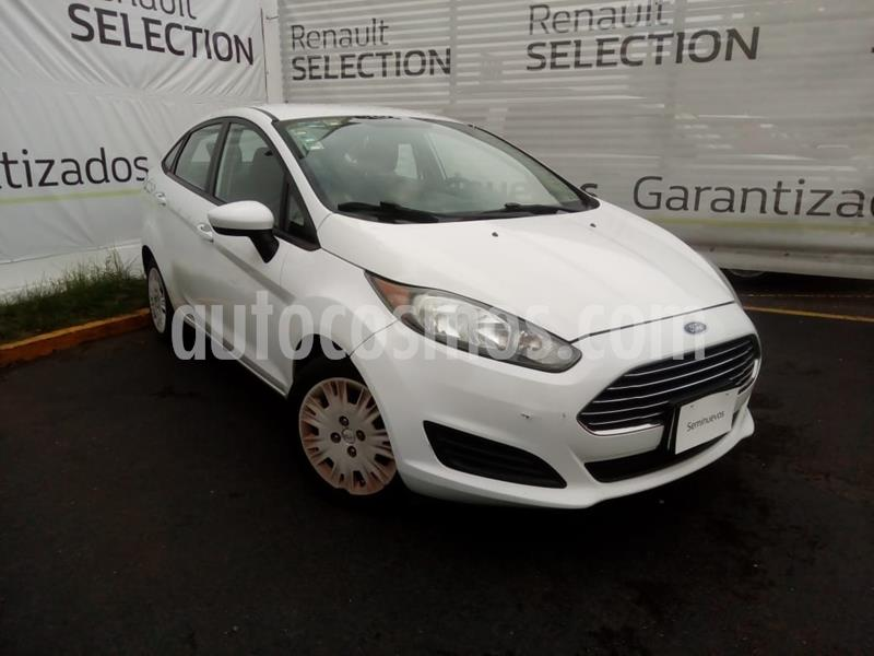 Ford Fiesta Sedan S Aut usado (2014) color Blanco Oxford precio $115,000