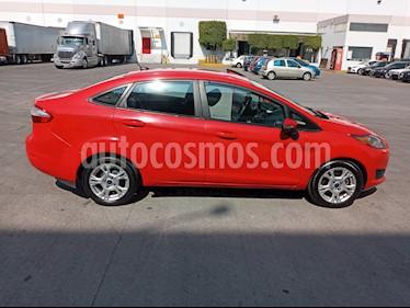 Ford Fiesta Sedan SE Aut usado (2015) color Rojo precio $130,000