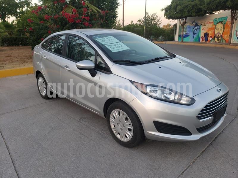 Ford Fiesta Sedan S usado (2019) color Plata precio $219,900