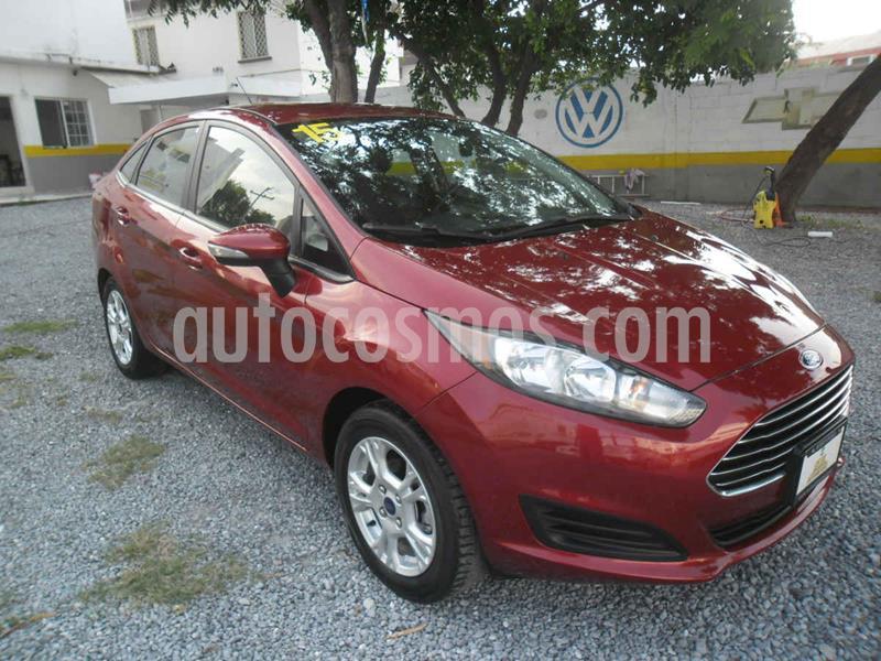 Ford Fiesta Sedan SE Aut usado (2015) color Rojo precio $115,000