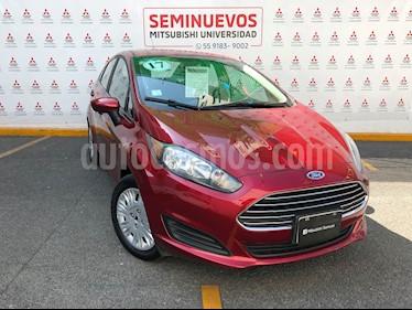 Ford Fiesta Sedan S usado (2017) color Rojo Rubi precio $170,000