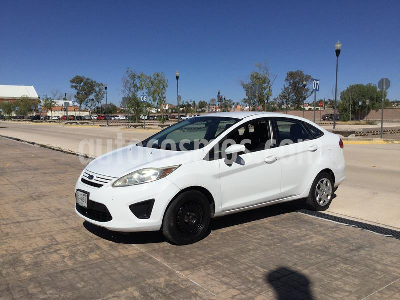 Ford Fiesta Sedan S usado (2012) color Blanco precio $95,000