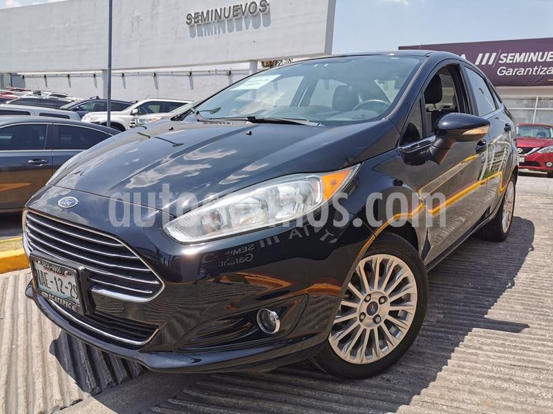 Ford Fiesta Sedan Titanium usado (2016) color Negro Profundo precio $162,000