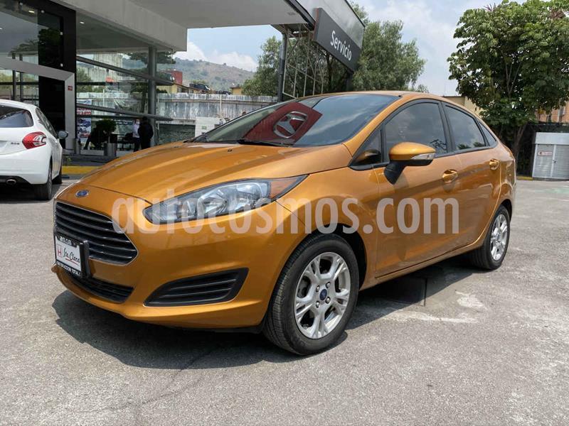 Ford Fiesta Sedan SE Aut usado (2016) color Dorado precio $157,000