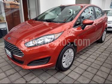 Ford Fiesta Sedan SE usado (2018) color Rojo precio $185,000