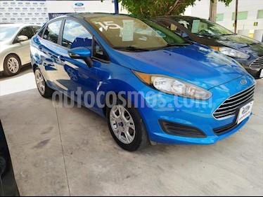 Foto Ford Fiesta Sedan 4P SE L4 1.6 AUT usado (2015) color Azul Electrico precio $135,000