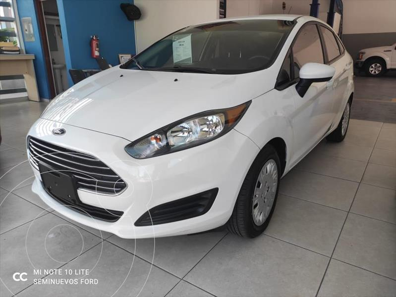 Foto Ford Fiesta Sedan S usado (2018) color Blanco precio $185,000