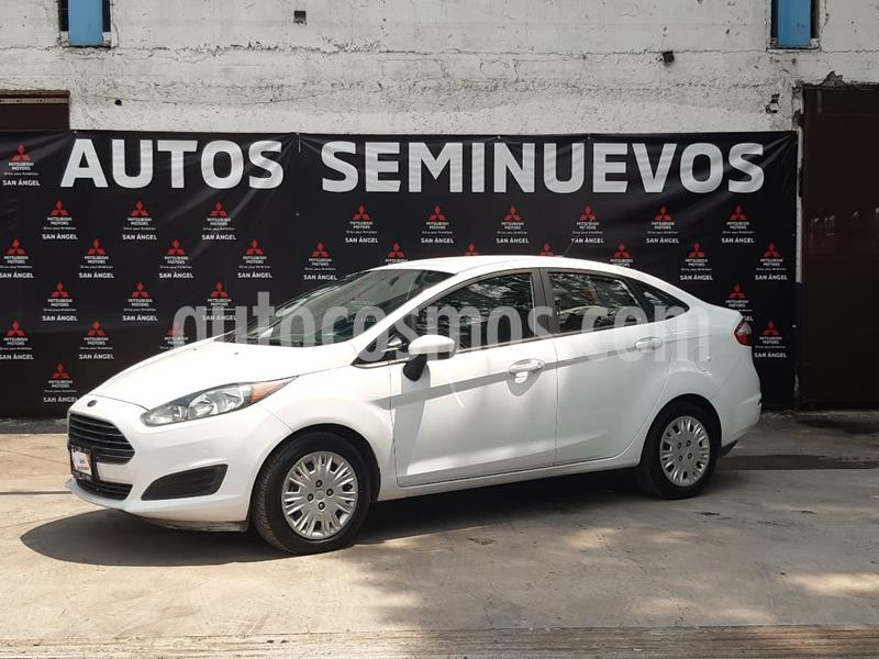 Ford Fiesta Sedan S usado (2015) color Blanco Oxford precio $133,000