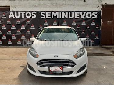 Ford Fiesta Sedan SE usado (2015) color Blanco Oxford precio $133,000