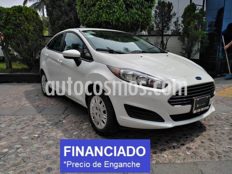 Ford Fiesta Sedan S Aut usado (2019) color Blanco Oxford precio $52,500