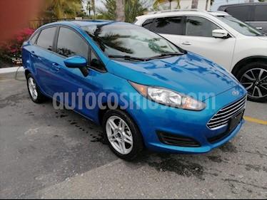 Ford Fiesta Sedan SE Aut usado (2017) color Azul Electrico precio $210,000