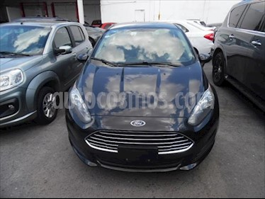 Ford Fiesta Sedan S Aut usado (2015) color Negro precio $125,000