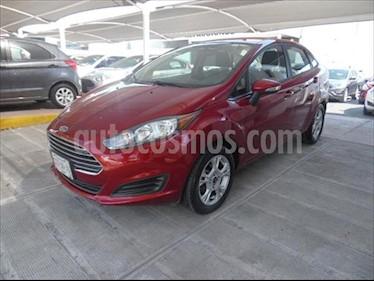 Ford Fiesta Sedan SE usado (2016) color Rojo precio $155,000