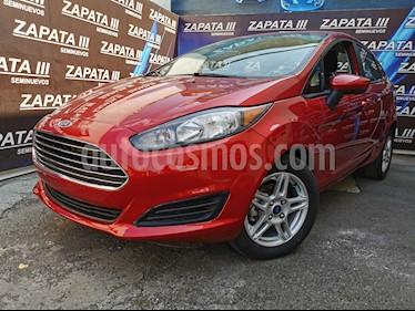 Ford Fiesta Sedan SE usado (2017) color Rojo Rubi precio $168,000