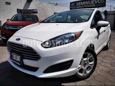 Ford Fiesta Sedan SE usado (2016) color Blanco Oxford precio $170,000