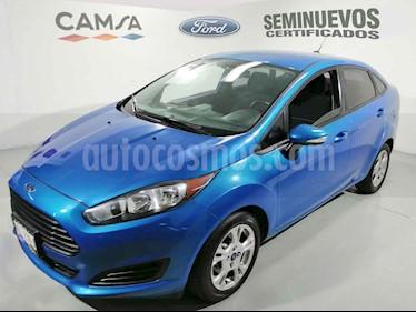 Ford Fiesta Sedan SE Aut usado (2014) color Azul precio $136,900