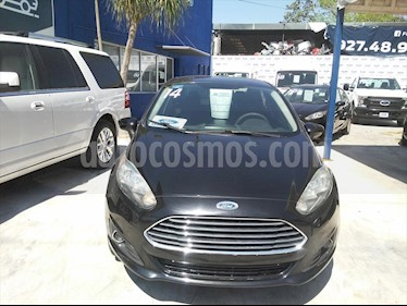 Foto Ford Fiesta Sedan 4P S 5VEL 1.6L usado (2014) color Negro precio $108,000