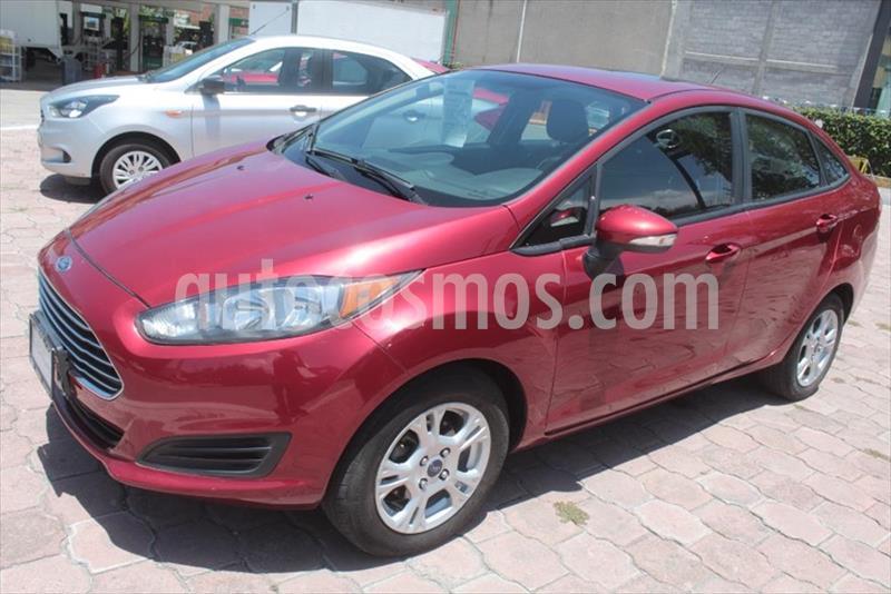 Ford Fiesta Sedan SE L4/1.6 MAN usado (2016) color Rojo precio $158,000