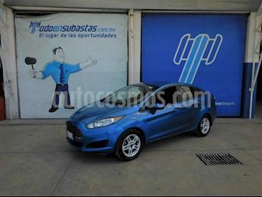 Ford Fiesta Sedan SE usado (2017) color Azul precio $68,000