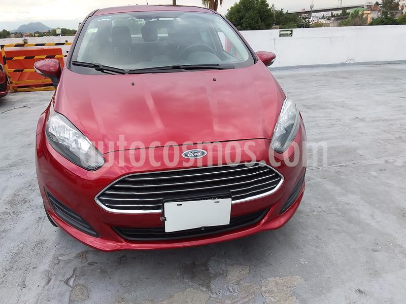 Ford Fiesta Sedan SE usado (2016) color Rojo precio $136,000
