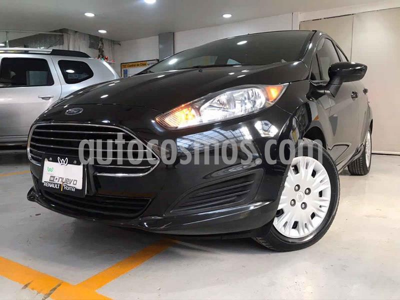 Ford Fiesta Sedan S usado (2014) color Negro precio $115,900