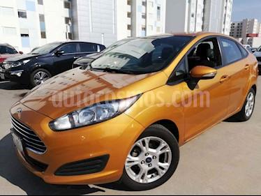Foto Ford Fiesta Sedan SE usado (2016) color Naranja precio $160,000