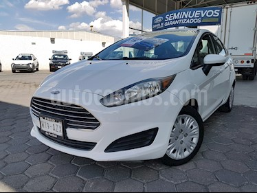 Ford Fiesta Sedan S usado (2016) color Blanco Oxford precio $160,000
