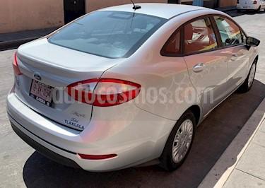 Ford Fiesta Sedan S usado (2018) color Plata Estelar precio $205,500
