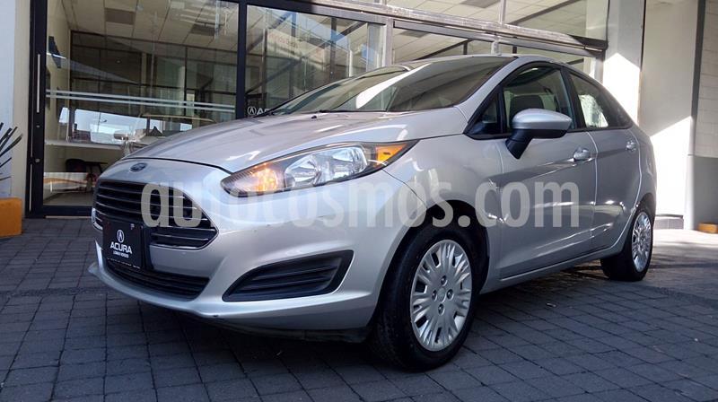 Ford Fiesta Sedan S usado (2015) color Plata precio $129,600