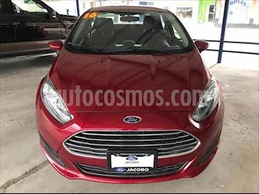 Ford Fiesta Sedan S L4/1.6 AUT usado (2016) color Rojo precio $145,000