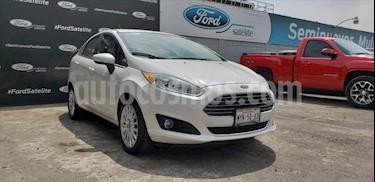 Ford Fiesta Sedan Titanium Aut usado (2016) color Blanco precio $185,000