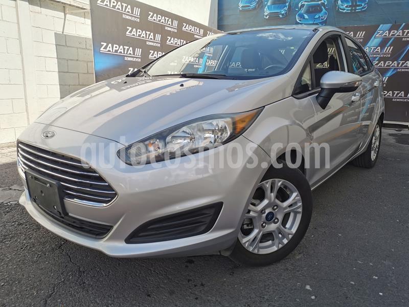 Ford Fiesta Sedan SE Aut usado (2016) color Plata Estelar precio $149,000