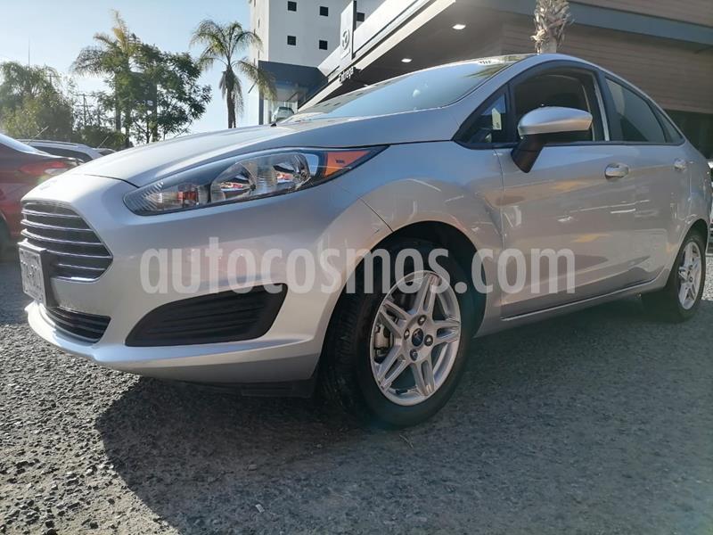 Ford Fiesta Sedan SE Aut usado (2019) color Plata Estelar precio $225,000