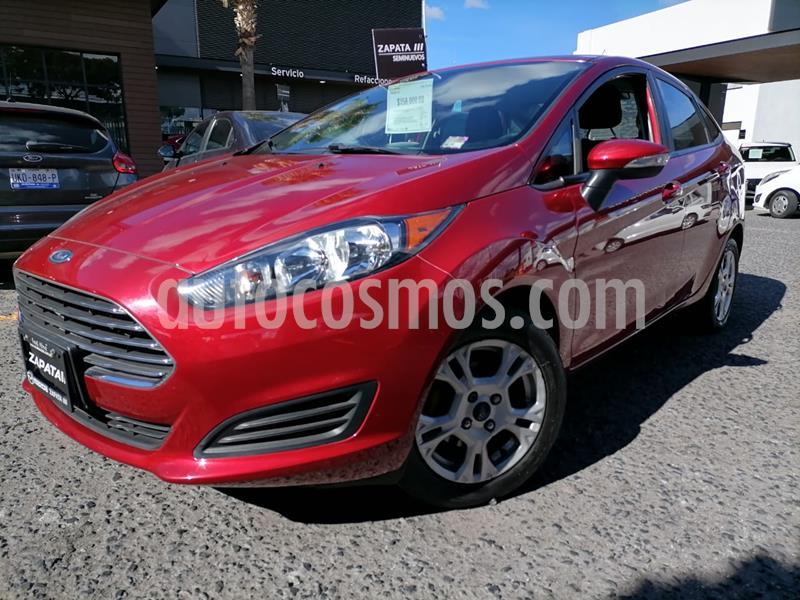 Ford Fiesta Sedan SE usado (2016) color Rojo Rubi precio $149,000