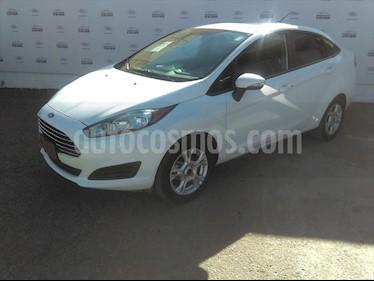 foto Ford Fiesta Sedán SE Aut usado (2016) color Blanco precio $158,000