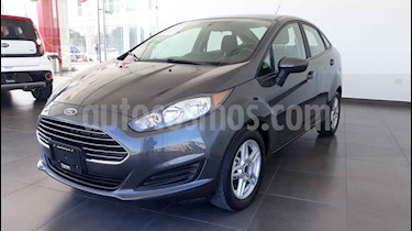 Ford Fiesta Sedan SE usado (2018) color Gris precio $192,000