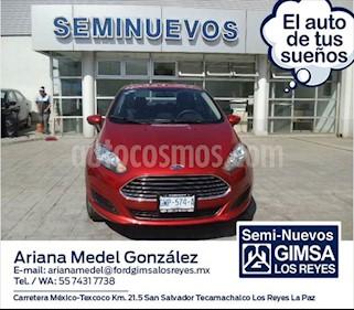 Ford Fiesta Sedan SE usado (2018) color Naranja precio $205,000