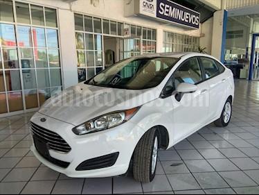 Ford Fiesta Sedan SE usado (2017) color Blanco precio $165,000
