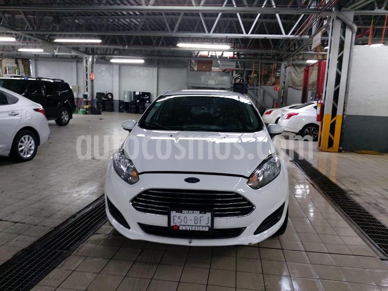 Ford Fiesta Sedan SE usado (2016) color Blanco precio $153,000