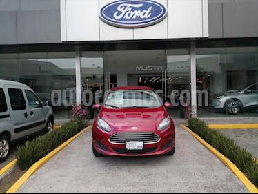 Ford Fiesta Sedan SE Aut usado (2016) color Rojo precio $153,000