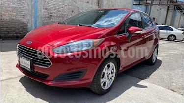 Ford Fiesta Sedan SE Aut usado (2016) color Rojo precio $157,000