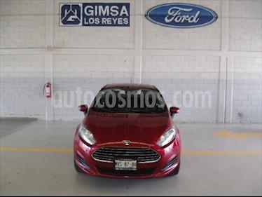 Ford Fiesta Sedan SE usado (2016) color Rojo precio $150,000