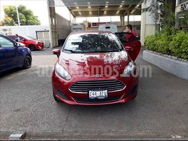 Ford Fiesta Sedan SE Aut usado (2016) color Rojo precio $180,000