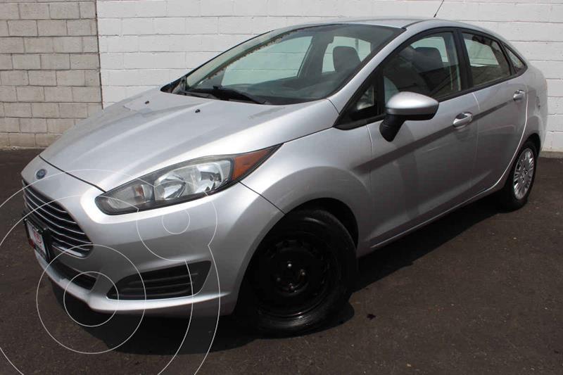 Ford Fiesta Sedán S usado (2014) color Plata precio $140,000