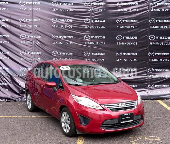 Ford Fiesta Sedan SE Aut usado (2013) color Rojo precio $110,000