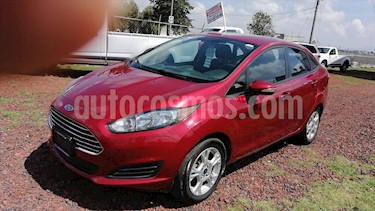 Ford Fiesta Sedan SE L4/1.6 AUT usado (2015) color Rojo precio $139,000