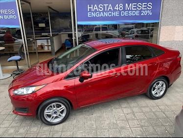 Ford Fiesta Sedán SE usado (2017) color Rojo precio $219,000