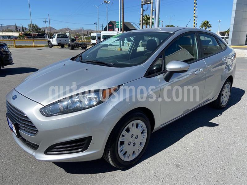 Ford Fiesta Sedan S Aut usado (2018) color Plata precio $169,000