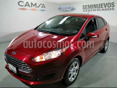 Ford Fiesta Sedan SE Aut usado (2016) color Vino Tinto precio $169,900